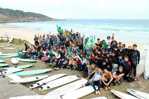 art surf camp galicia