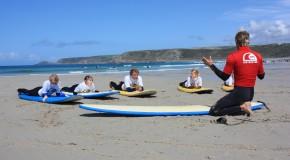 Inglés y Surf