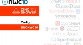 Código 50% de descuento ZincShower
